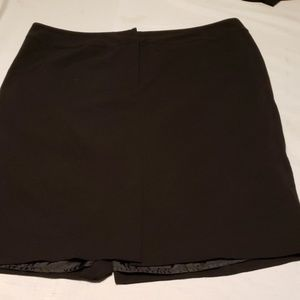 Plus size 18w worthington black straight skirt